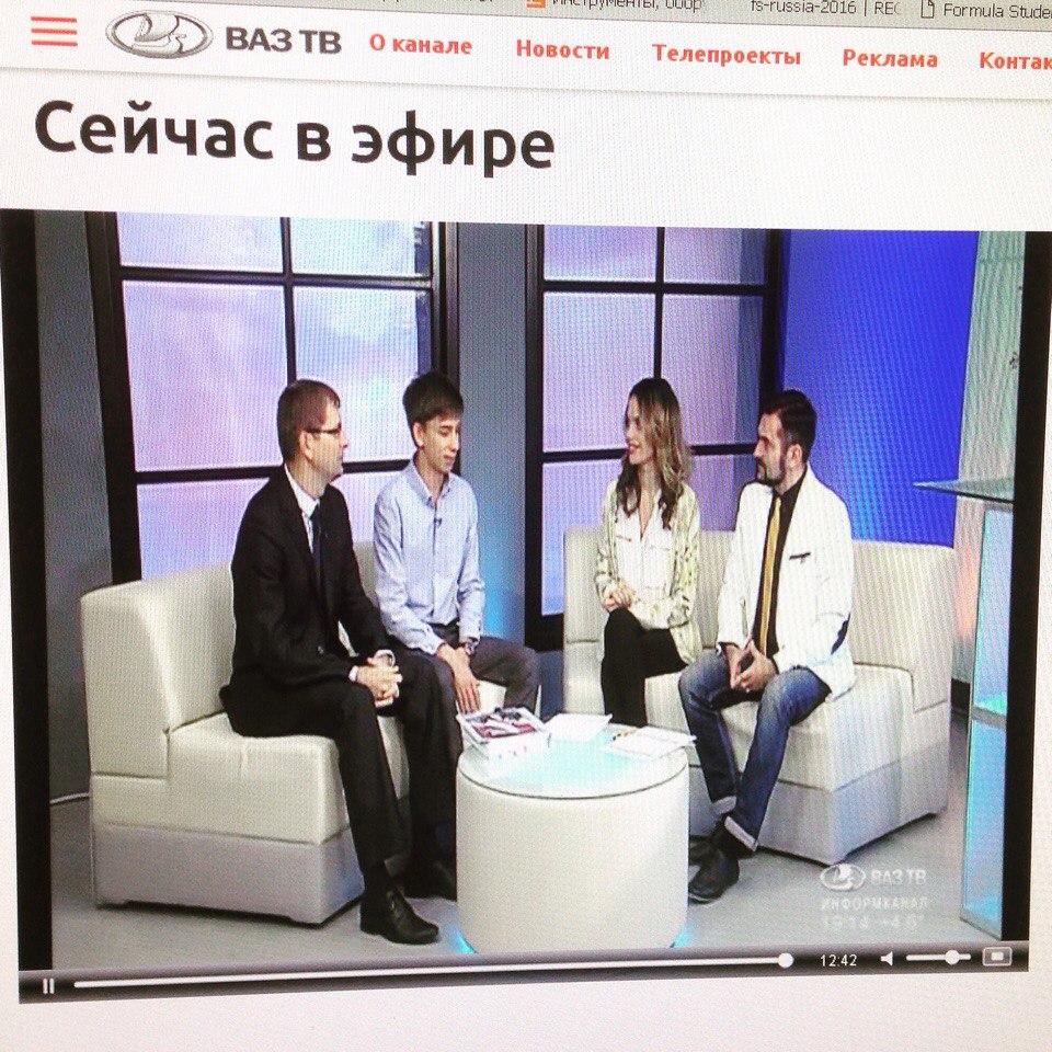 Мы в гостях на ВАЗ ТВ